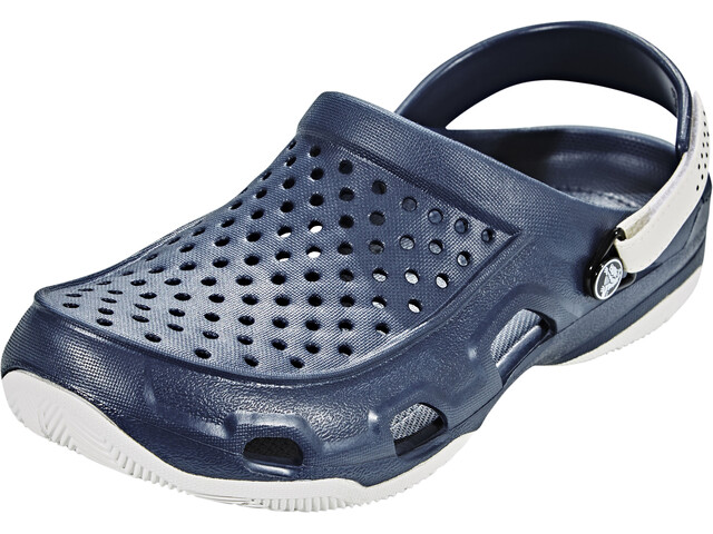 Crocs Swiftwater Deck Clogsit Miehet, navy/white